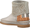 KARMA OF CHARME Bottines HAMMAM en blanc - small