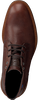 FLORIS VAN BOMMEL Bottines à lacets 20228 en cognac  - small