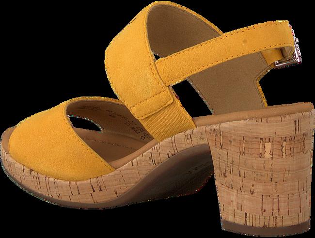 GABOR Sandales 775 en jaune  - large