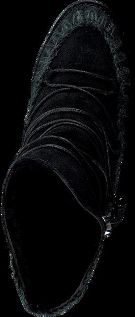 Zwarte MOU Vachtlaarzen ESKIMO FRENCH TOE LACE UP - large