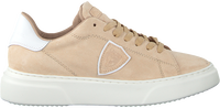Beige PHILIPPE MODEL Sneakers TEMPLE FEMME  - medium