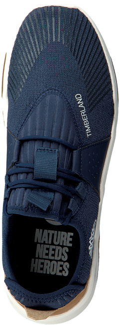 TIMBERLAND Baskets basses EARTH RALLY FLEXI KNIT OX en bleu  - large
