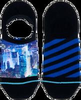 Blauwe XPOOOS Sokken CITYLIGHTS INVISIBLE  - medium