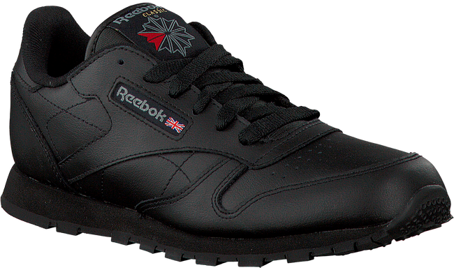Zwarte REEBOK Sneakers CLASSIC LEATHER KIDS - large