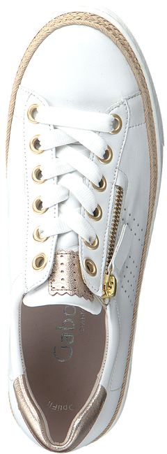 Witte GABOR Lage sneakers 418  - large