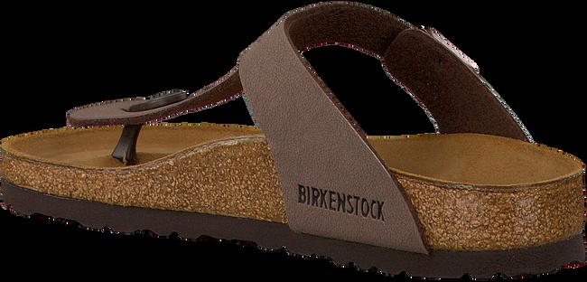 BIRKENSTOCK PAPILLIO Tongs GIZEH en marron - large