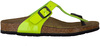 BIRKENSTOCK PAPILLIO Tongs GIZEH KIDS en vert - small
