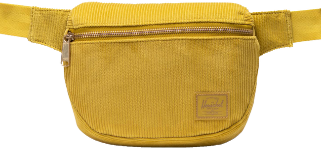 HERSCHEL Sac banane FIFTEEN en or  - large
