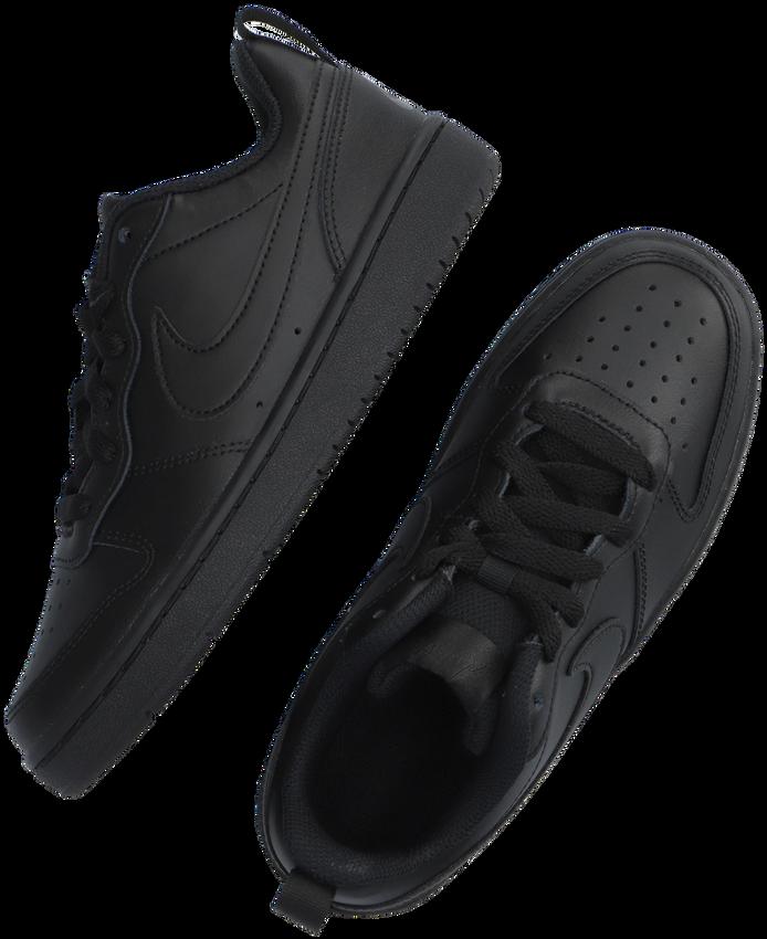 Zwarte NIKE Lage sneakers COURT BOROUGH LOW 2 (GS)  - larger