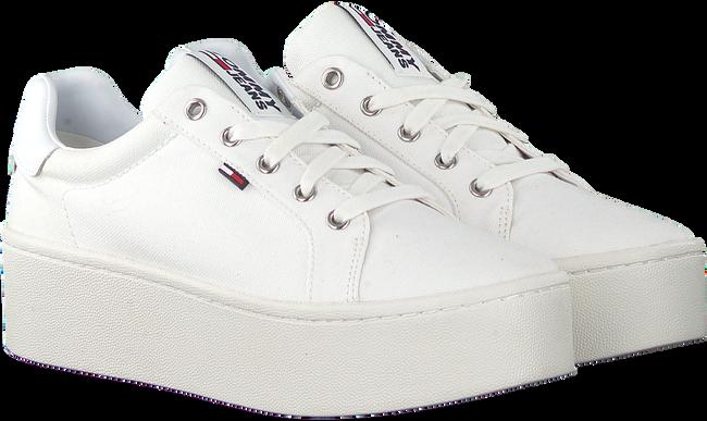 Witte TOMMY HILFIGER Lage sneakers TOMMY JEANS FLATFORM  - large