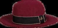 Rode ROMANO SHAWLS AMSTERDAM Hoed HAT RIBBON  - medium