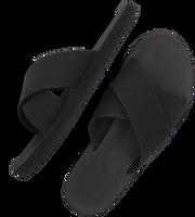 INDOSOLE Tongs CROSS en noir  - medium