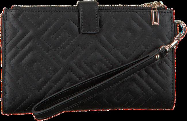 GUESS Porte-monnaie BRIGHTSIDE SLG DBL ZIP ORGNZR en noir  - large