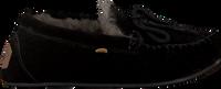 Zwarte WARMBAT Pantoffels FJORDA - medium