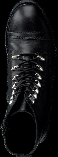 OMODA Bottines à lacets 16078 en noir - large