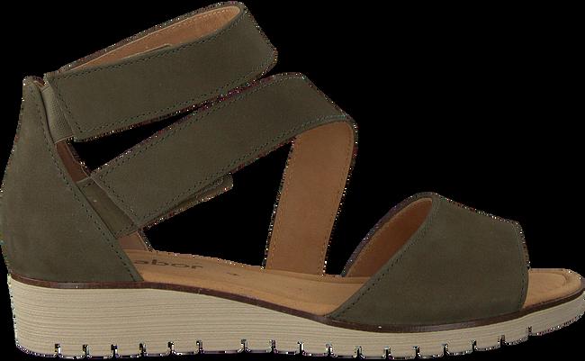 GABOR Sandales 582 en vert - large