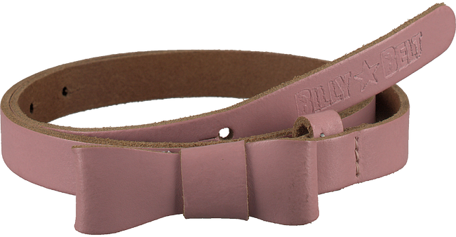 BILLYBELT Ceinture STRIKJE en rose - large