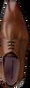 cognac FLORIS VAN BOMMEL shoe 14095  - small