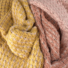 ABOUT ACCESSORIES Foulard 8.73.711 en rose - small