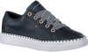 Blauwe TOMMY HILFIGER Lage sneakers NAUTICAL LACE UP  - small