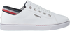 Witte TOMMY HILFIGER Lage sneakers GLITTER DETAIL CITY  - small