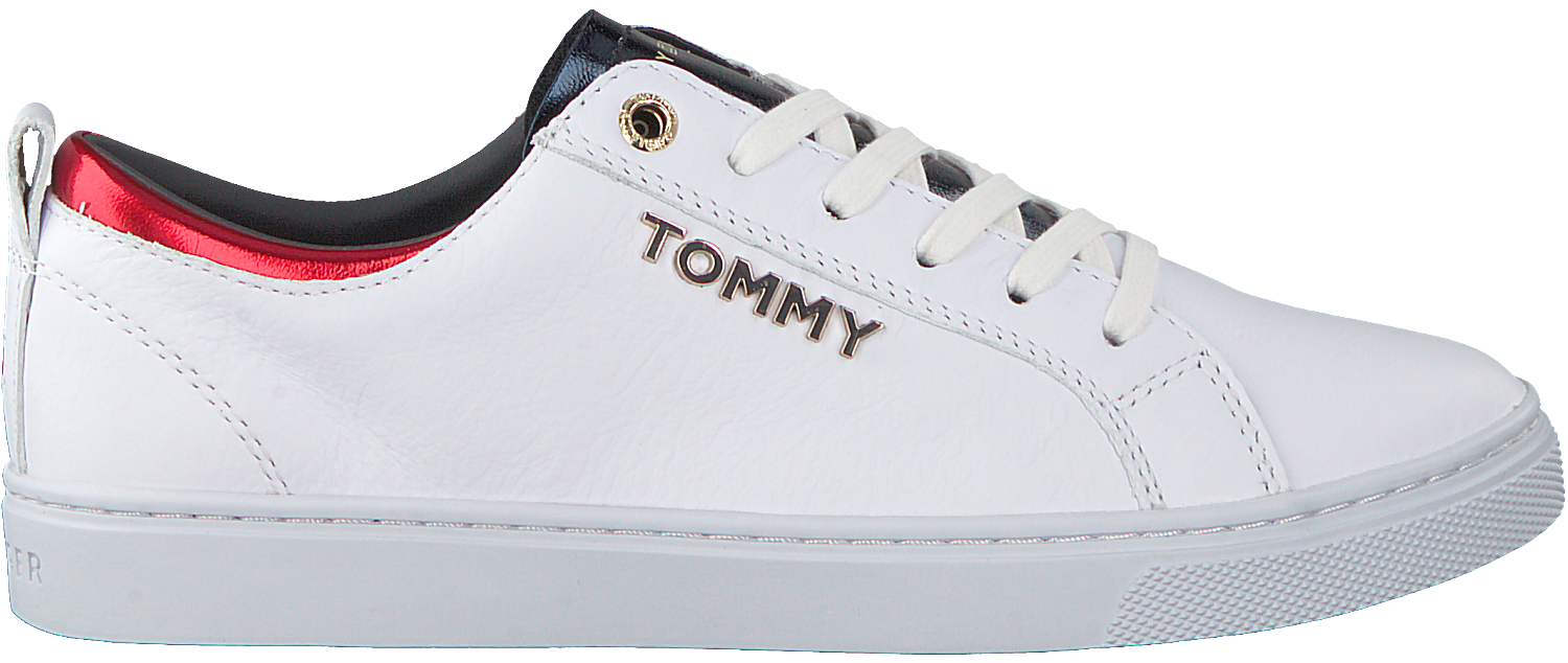 TOMMY HILFIGER Baskets CITY SNEAKER en blanc