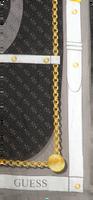Zwarte GUESS Sjaal CAMY PRINTED KEFIAH  - medium