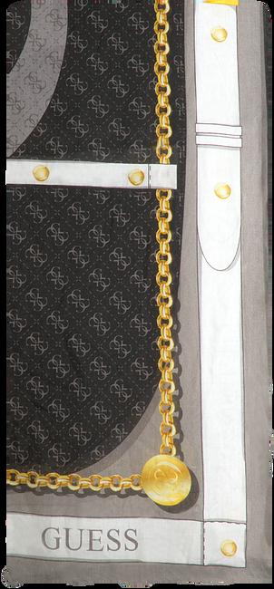 Zwarte GUESS Sjaal CAMY PRINTED KEFIAH  - large