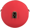 FURLA Sac bandoulière SLEEK MINI C/BODY ROUND en rouge  - small