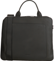 Zwarte MYOMY Laptoptas MY LOCKER BAG BUSINESS  - medium