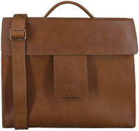Bruine MYOMY Laptoptas MY HOME BAG BUSINESS BAG  - medium