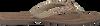 LAZAMANI Tongs 75.341 en beige - small