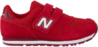 Rode NEW BALANCE Lage sneakers YV373/IV373  - medium