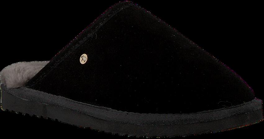 WARMBAT Chaussons CLASSIC UNISEX SUEDE en noir - larger