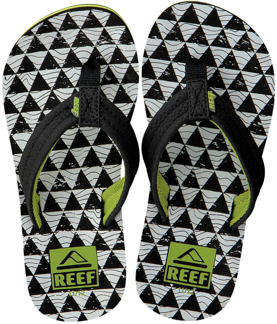 REEF Tongs R2345 en noir - large