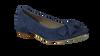OMODA Ballerines 051.164 en bleu - small