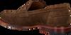 MAZZELTOV Chaussures à enfiler 5401 en cognac  - small