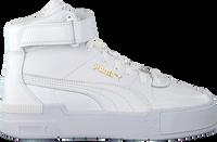 Witte PUMA Hoge sneaker CALI SPORT TOP WARM UP WN'S  - medium