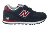 NEW BALANCE Baskets KV574 en bleu - small