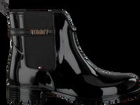 TOMMY HILFIGER Bottes en caoutchouc BLOCK BRANDING en noir  - medium