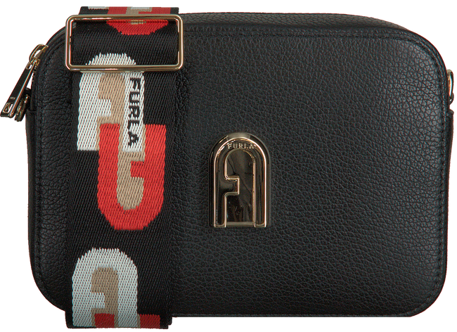 FURLA Sac bandoulière SLEEK MINI CROSSBODY en noir  - large
