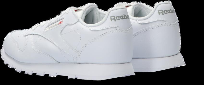 REEBOK Baskets CLASSIC LEATHER KIDS en blanc - larger