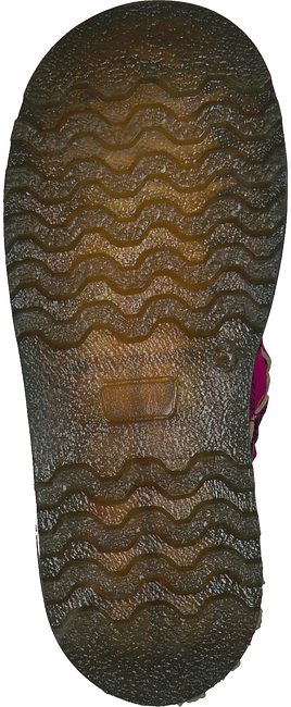 PINOCCHIO Bottines à lacets P1690 en rose - large