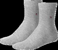 TOMMY HILFIGER Chaussettes TH CHILDREN SOCK TH BASIC 2P en gris - medium