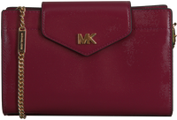 MICHAEL KORS Pochette MOTT MD CNV XBODY CLUTCH en rouge  - medium