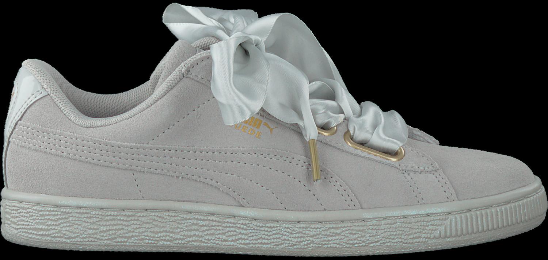 29d558ac51b Grijze PUMA Sneakers SUEDE HEART SATIN - large. Next