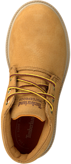 TIMBERLAND Bottines à lacets TBL 1973 NEWMAN CHUKKA WP KIDS en camel  - large