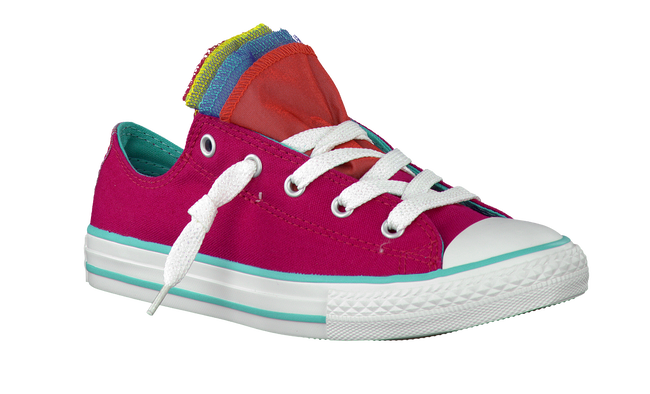 CONVERSE Baskets AS PARTY SHINE SLIP en rose - large