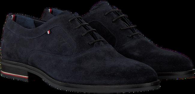 Blauwe TOMMY HILFIGER Nette schoenen SIGNATURE HILFIGER OXFORD  - large