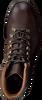 GOOSECRAFT Bottines à lacets CHET MOUNTAIN en marron  - small